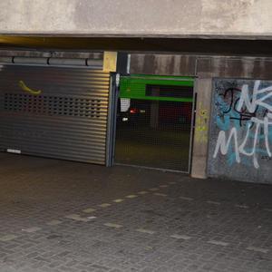 Parkhaus - vorher/nachher